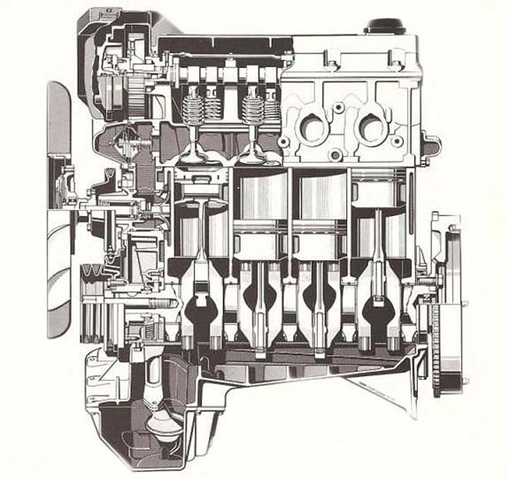БМВ е36 м40 (M40B16 и M40B18) - общий обзор двигателя