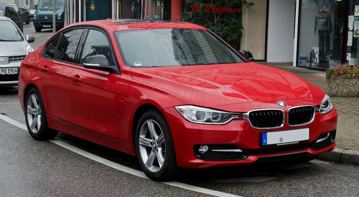 BMW_320d_Sport_Line_(F30)_–_Frontansicht,_26._Februar_2012,_Wülfrath