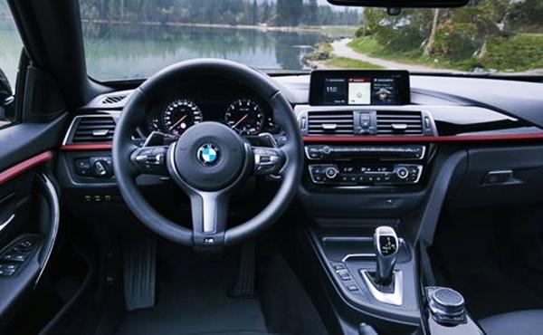 2021 BMW 4 Series Hatchback Interior