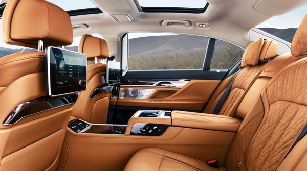 2021 BMW 750i Xdrive Interior