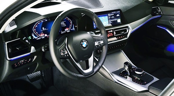 2021 BMW 3 Series Interior
