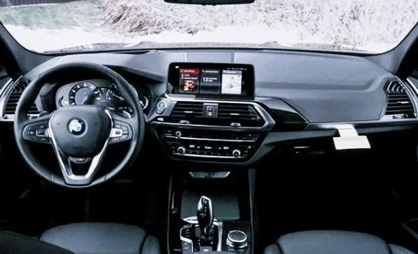 2021 BMW X3 Electric Interior