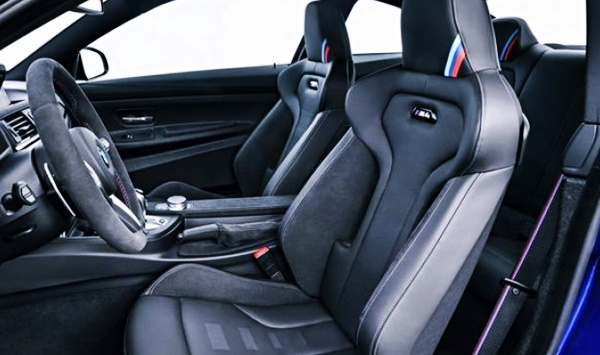 New 2021 BMW M2 Interior