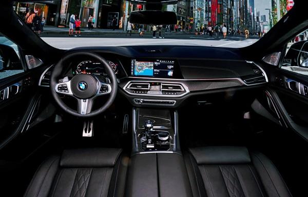 2022 BMW X6 Interior