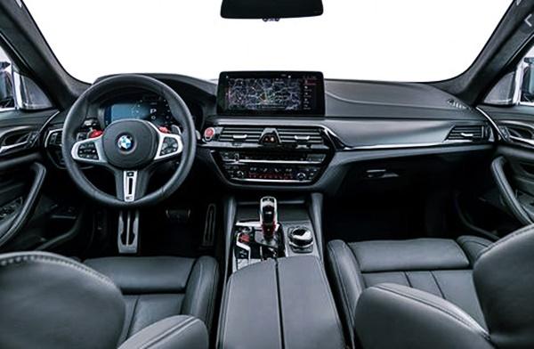2022 BMW M5 Interior