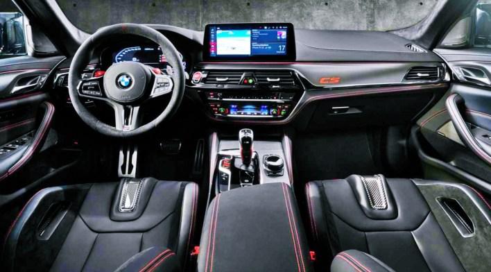 2022 BMW M5 CS Interior