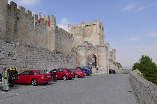 Castle en route to Segovia
