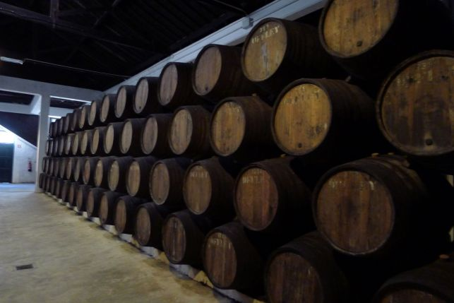 Port Barrels at Offley's