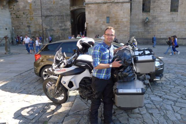 German F800GS Rider from India!