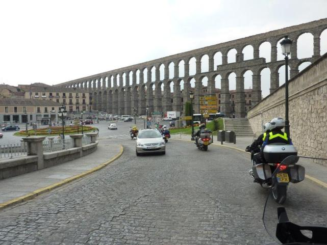 The Aqueduct at Segovia