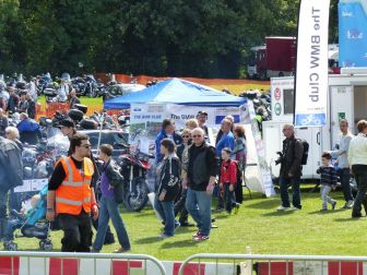 09 BMW Club Oxford Section stand Brackley Festival of Motorcycling 20140817