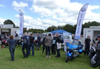 21 BMW Oxford Section stand Brackley Festival of Motorcycling 20140817