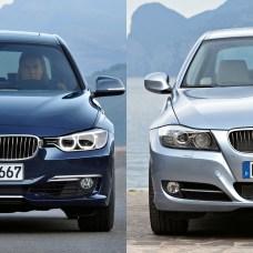 BMW Serie 3 F30 E90
