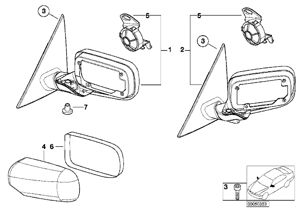 Bmw E46 Wing Mirror Wiring Diagram : 34 Wiring Diagram