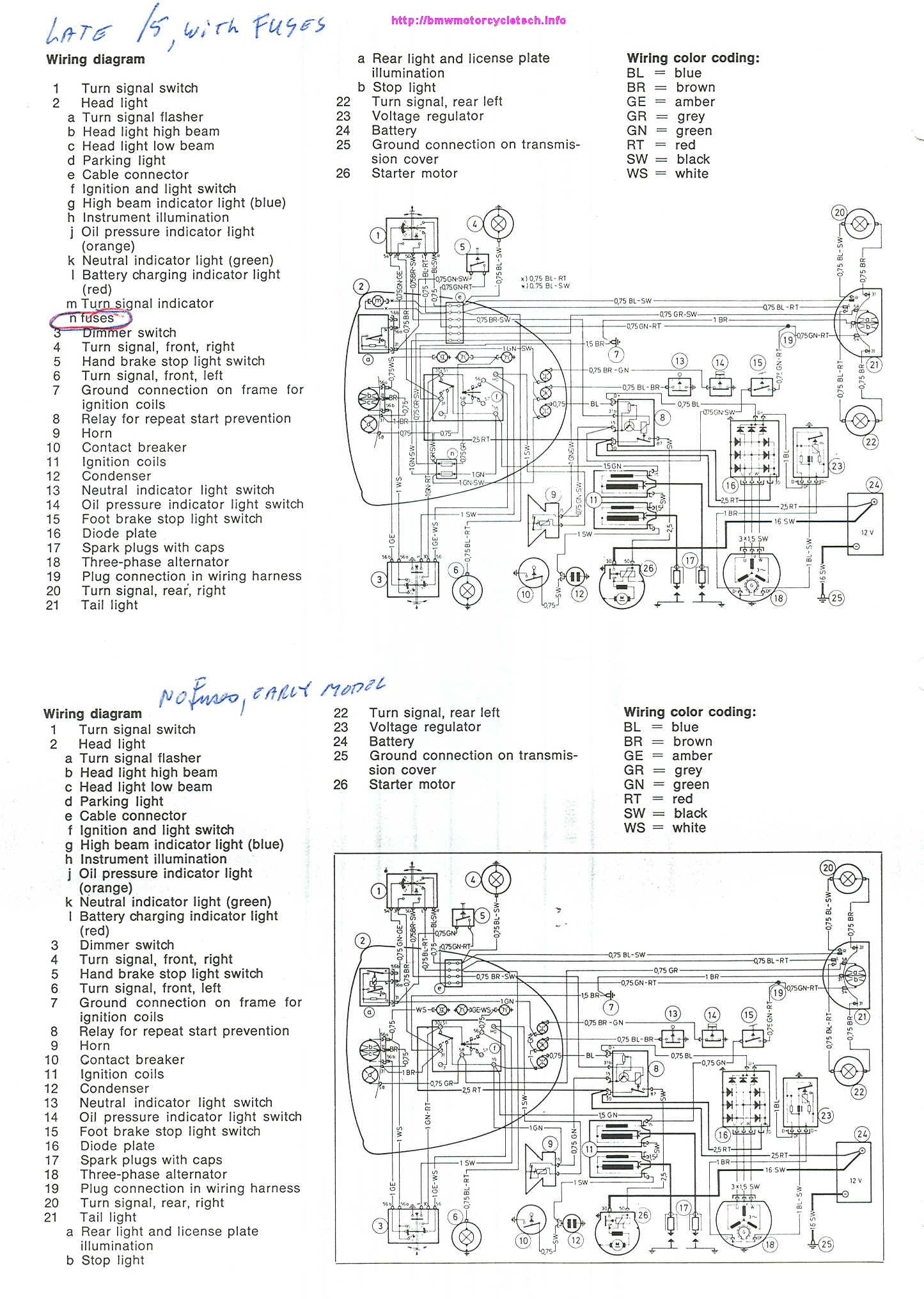 Indicator Light Wiring Diagram