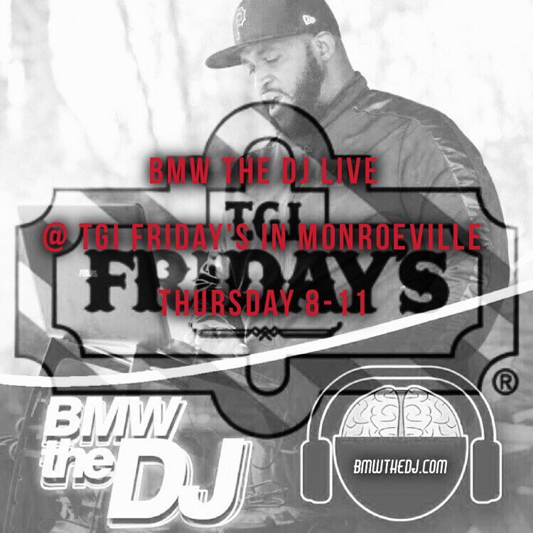 BMW THE DJ TGI FRIDAYS