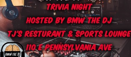 bmw the dj tj trivia