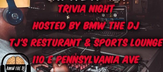 bmw the dj tj trivia