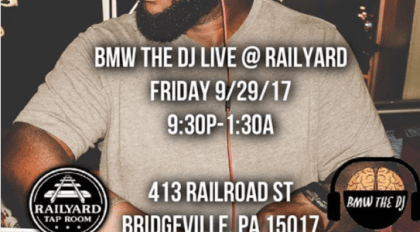 bmw the dj at railyard