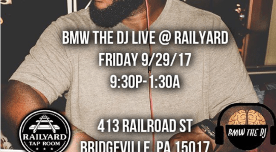 bmw the dj at railyard