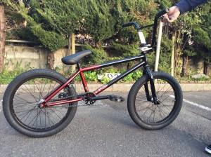 KINK 2015年 GAP XL-赤・黒