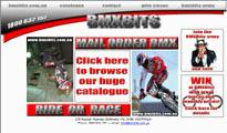 BMXBits new website front page