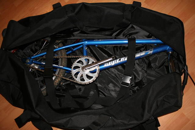 DK Gold Travel Bag / Bike bag