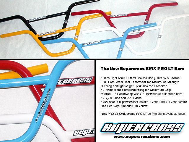 Supercross BMX Pro LT handlebars