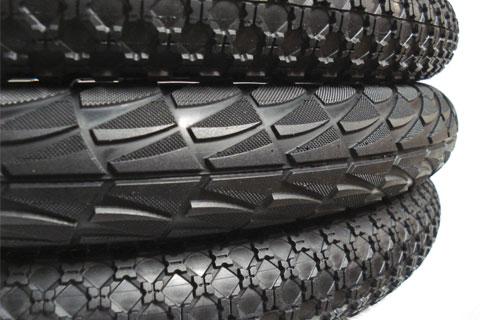 Alienation folding tires