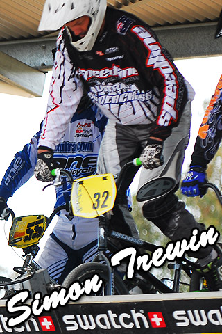 Speedline/Supercross team rider Simon Trewin