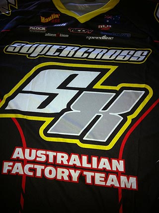 Supercross Australia Team Jersey