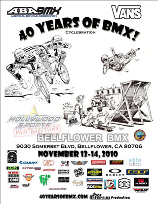40 Years of BMX Celebrations