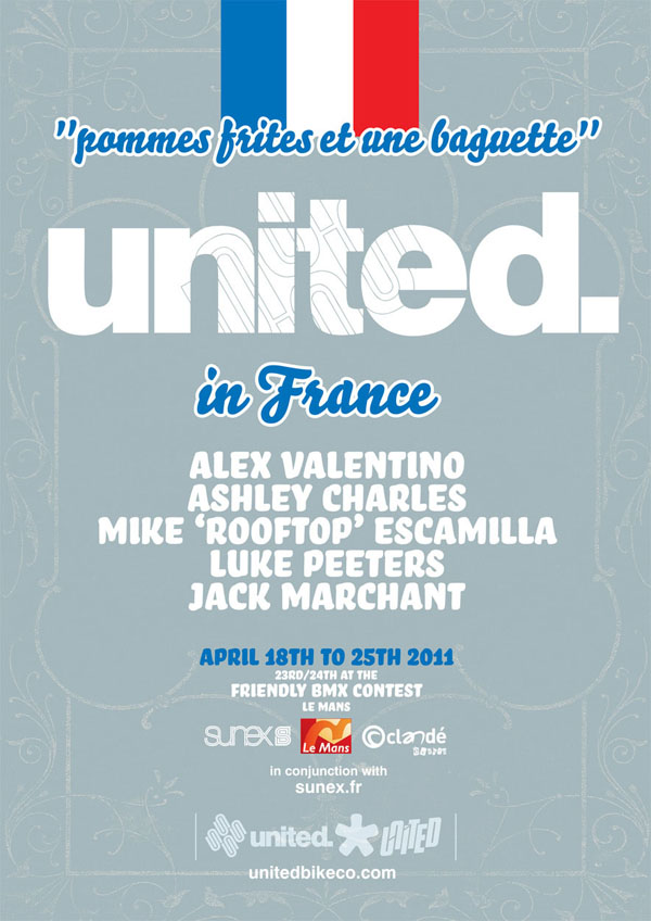 United in France – Flyer