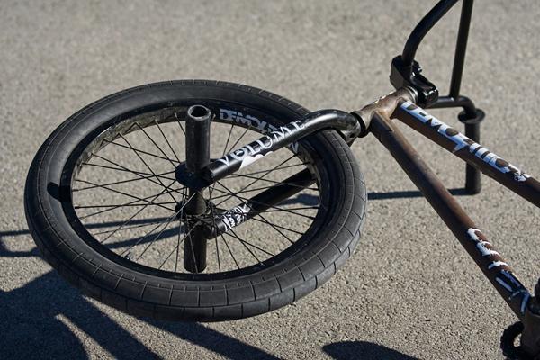 Jason Enns BMX Bike