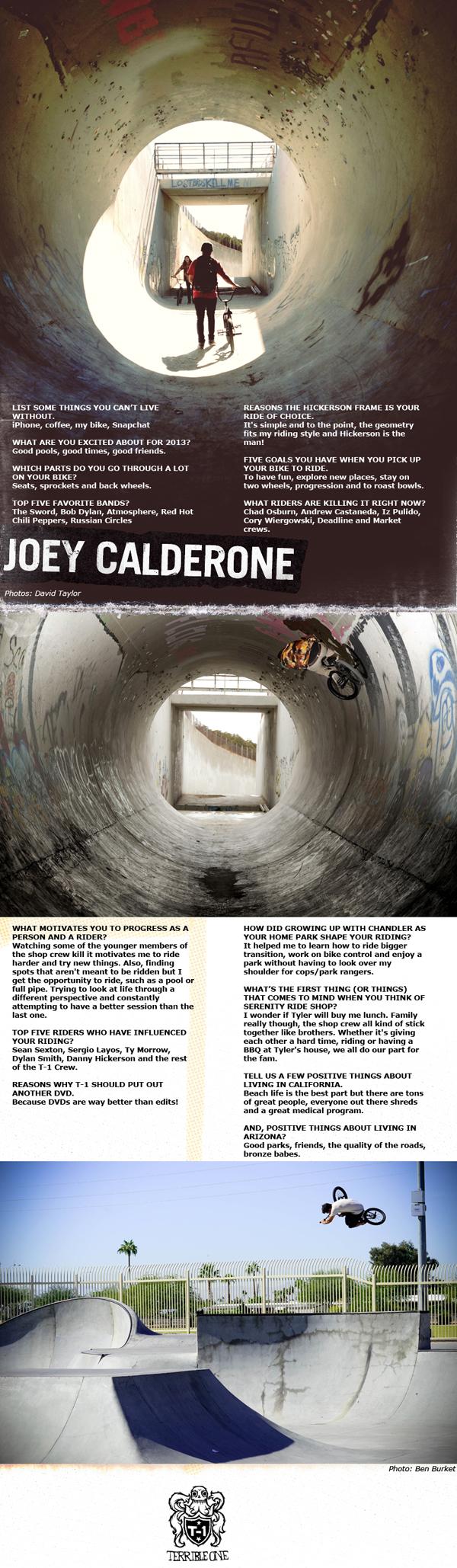 Joey Calderone BMX