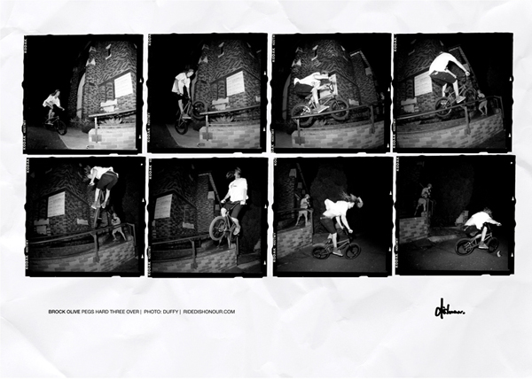 Print Ad: Dishonour – Brock Olive
