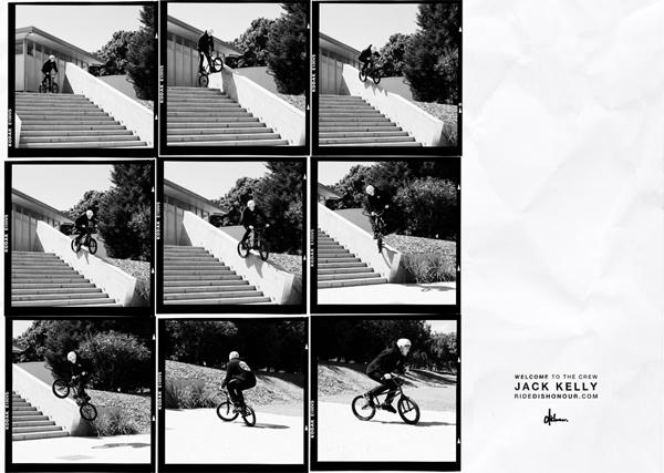 Print Ad: Dishonour – Jack Kelly & Tenna
