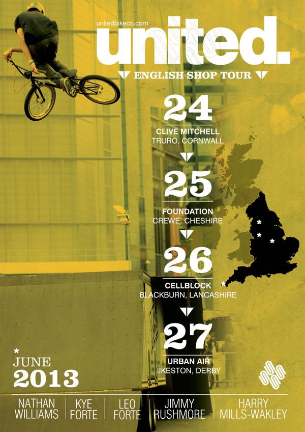 United BMX English Shop Tour