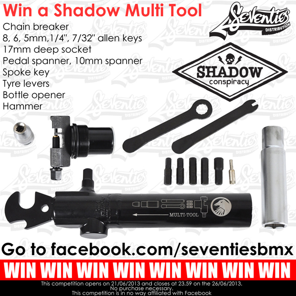 Seventies X Shadow Conspiracy – Multi-Tool Giveaway