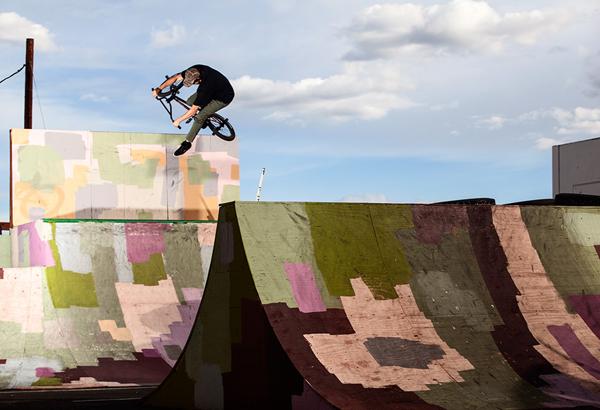 Chris Bracamonte BMX