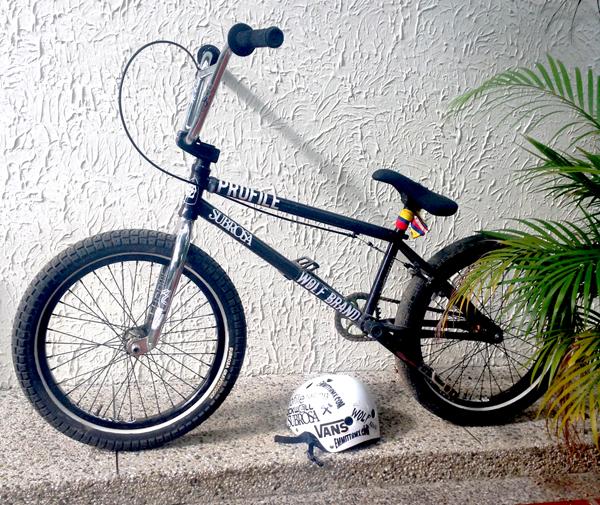 Mark Mulville BMX bike check