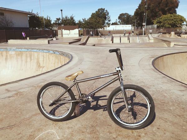 Tom Perry BMX bike check