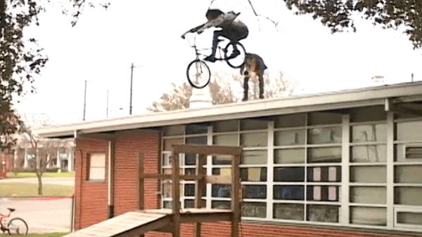 Sean Burns BMX video