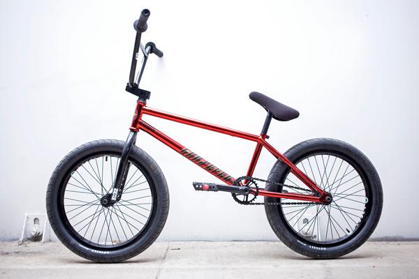 Mat Houck Mutiny Loosefer BMX bike