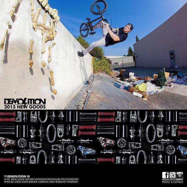 Print Ad: Demolition Parts – Rob Wise