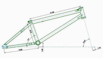 insight bmx frame geometry