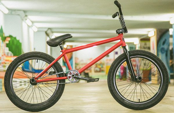 Luc Legrand Bike Check