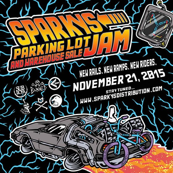 Sparky's Warehouse Jam 2015 – Save the Date