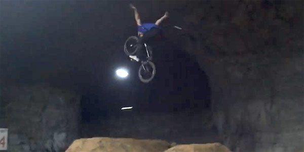 Jay Dalton – Riding BMX Jumps Underground