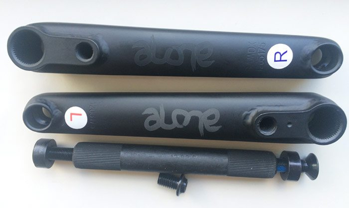 Product: Alone BMX – Danger Cranks